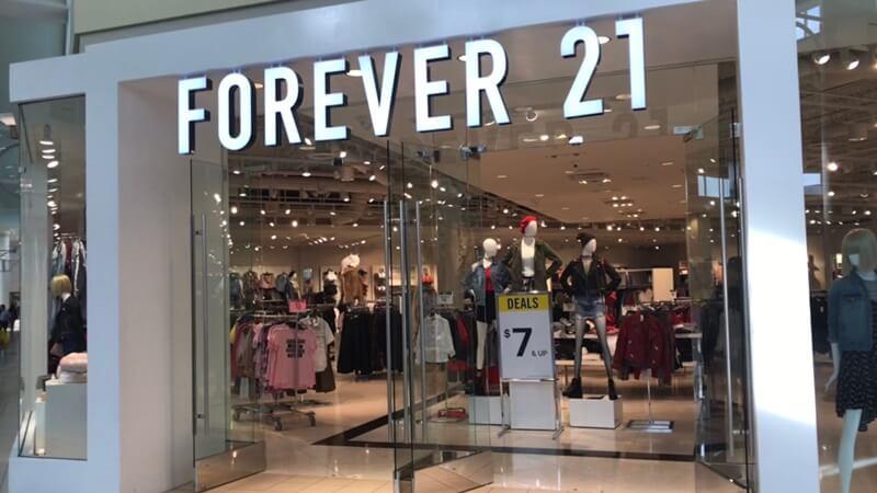 フォーエバー 21 閉店